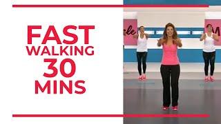 Fast Walking – 30 minutes