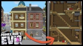 SECRET Staircase Room! - Minecraft Evo Ep. 49