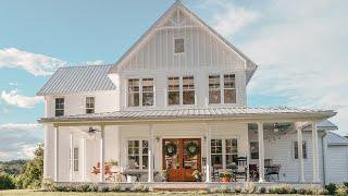 Antique Farmhouse Home Tour // Farmhouse Decorating Ideas // Farmhouse On A Budget