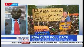 NASA's concerns and disagreements with the IEBC
