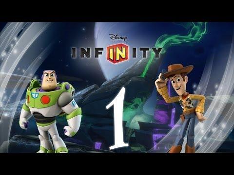 Прохождение Disney Infinity История игрушек Часть 1