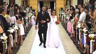 Canto de Entrada dos Noivos - Casamento Comunitário Com Missa (26.10.2018)