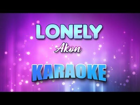 Akon – Lonely (Karaoke version with Lyrics)