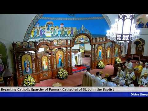 Živý prenos z intronizácie vladyku Milana Lacha SJ z Katedrály sv. Jána Krstiteľa v Parme, USA