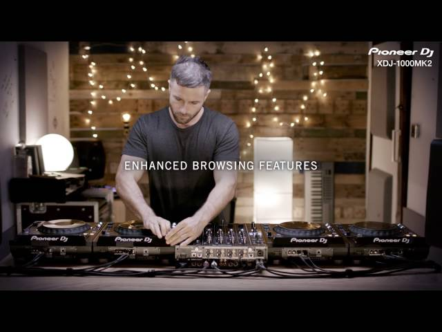 Pioneer DJ XDJ-1000MK2 Official Introduction