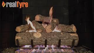 Peterson RealFyre Golden Oak Designer Plus on G45 Burner