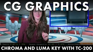 SE-1200 Tips and Tricks: How to do CG with Chroma Key and Luma Key