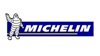 MICHELIN - MICHELIN : rebond sur le support.