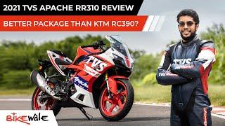 2021 TVS Apache RR 310 Review   Better Package Than KTM RC390?   Dynamic Kit & Race Kit   BikeWale