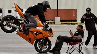 He DOESN'T Want Children!?! - 2003 Kawasaki 636 Test Ride!