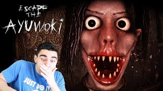 MICHAEL JACKSON JUMPSCARED THE LIFE OUT OF ME!!! - Escape The Ayuwoki (Ending)
