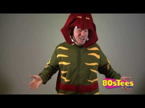 Battle Cat Costume Hoodie Video