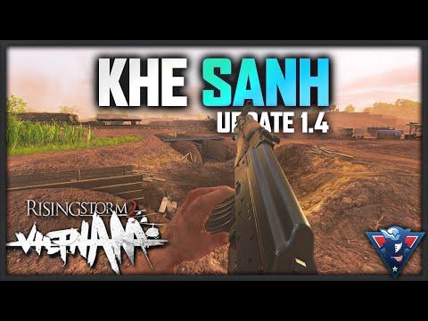KHE SANH (NEW MAP) | Rising Storm 2: Vietnam Gameplay - Update 1.4