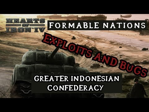 Hearts of Iron 4: Formable Nations - Greater Indonesia Confederation