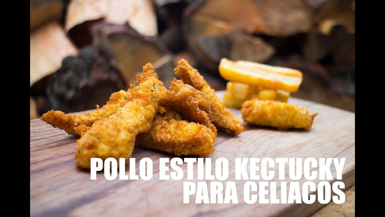 """RECETAS PARA CELÍACOS: POLLO ESTILO KENTUCKY """"KFC"""""""