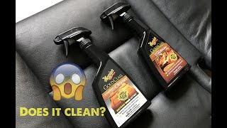 Meguiars leather cleaner and conditioner// Test// Do they really work?