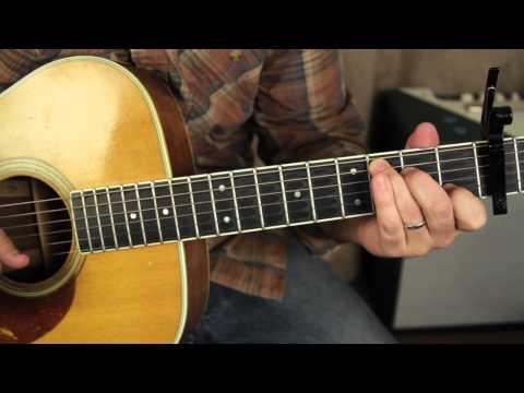 Fleetwood Mac Landslide Lesson Acoustic Fingerpicking Guitar