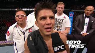 UFC 227: Henry Cejudo and Demetrious Johnson Octagon Interviews