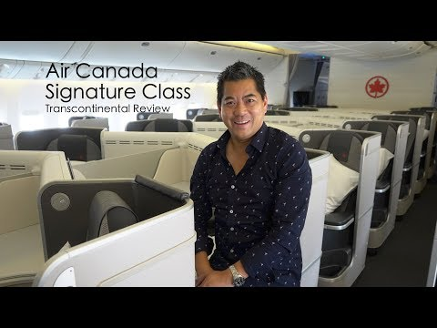 Air Canada Signature Class – Business Class Kicked Up