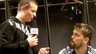 Marc Gasol Talks Barcelona w/ CroatianSoccerReport