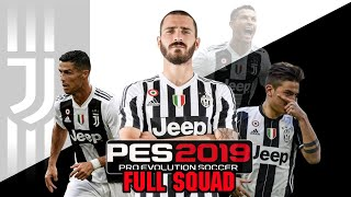 PES 2019 Manchester City Players Overall Ratings - hmong video