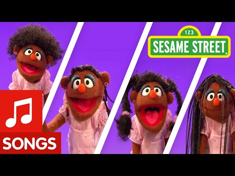 """I Love My Hair"" song from Sesame Street"