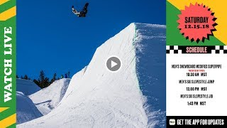 Day 3: 2018 Dew Tour Breckenridge – Men's SB Modified Superpipe & Men's Ski Slopestyle