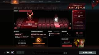 Claiming Rewards Battle Pass 2016 Level 1000