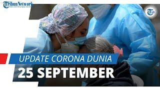 Update Covid-19 Dunia per 25 September 2021: Total 231,8 Juta Terinfeksi, AS Masih Kokoh di Puncak