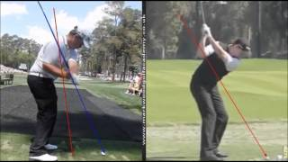 Jimmy Walker and George Coetzee Swing Analysis
