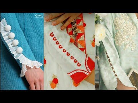 New Trendy Useful Sleeves Designs/Latest Summer Sleeves Kurtis and Frocks