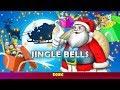 New Year Song Jingle Bells 2020 🎁 KONDOSAN Fairy Tales English Cartoon Tv | Santa Claus Listening