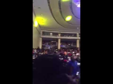 Reekado Banks performing the chart topping Oluwa Ni at Kiss Daniel's album launch concert