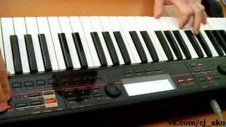 CJ AKO Korg Kross 61 Realtime Relaxing Music Красивая Простая Мелодия На Синтезаторе Музыка для души