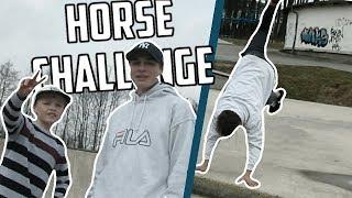 Parkour Horse Challenge #2 |  bboy Vojta VS Šimon