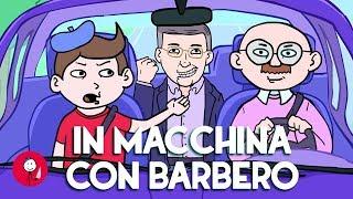In macchina con Barbero
