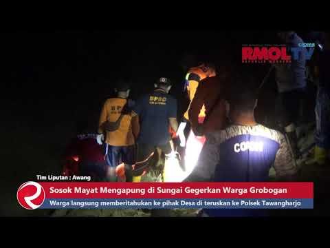Sosok Mayat Mengapung di Sungai Gegerkan Warga Grobogan