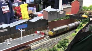 preview picture of video 'Stafford Model Rail Expo 2015'