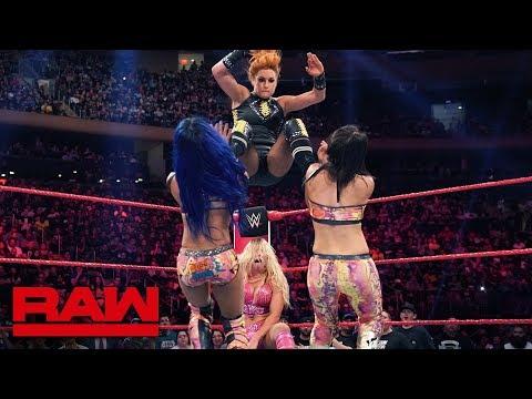 Becky Lynch & Charlotte Flair vs. Sasha Banks & Bayley: Raw, Sept. 9, 2019
