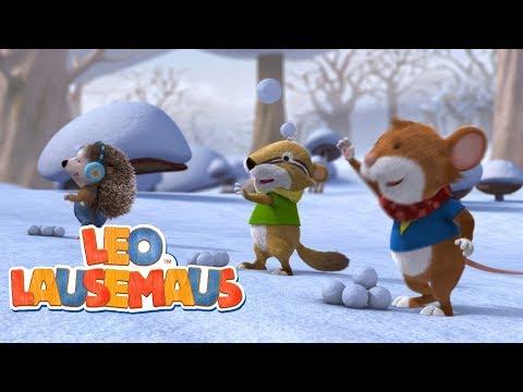 Schneespaß im Kindergarten - Leo Lausemaus