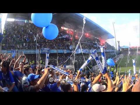 """""""ESPECTACULAR SALIDA DE EMELEC EN LA FINAL 2014 CLASICO DEL ASTILLERO"""" Barra: Boca del Pozo • Club: Emelec"""