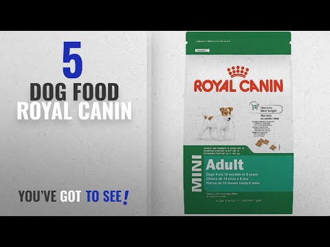 Top 5 Dog Food Royal Canin [2018 Best Sellers]: ROYAL CANIN SIZE HEALTH NUTRITION MINI Adult dry dog