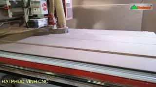 MÁY CNC TRUNG TÂM 2D OPTION Trục lưỡi Cưa Cắt mọi góc độ Woodmaster