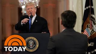 President Donald Trump Unleashes In Combative Post-Midterms News Conference | TODAY