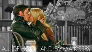 All Of Hook & Emma Kisses| ONCE UPON A TIME