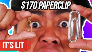 $1 Paperclip Vs $170 Paperclip