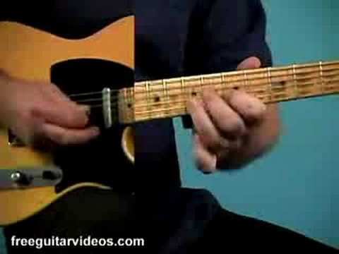 Guitar Lessons Online - Free Blues Lesson Video