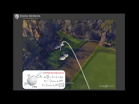 Predicting wind-induced variability of golf shots: A look at Hole 12 at the Augusta Masters