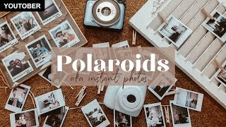 5 Ways To Hang Polaroids And Instax Photos | Home Photo DIY
