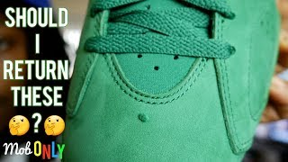 Green Gatorade 6 Mall vlog & Review Should I Return these?